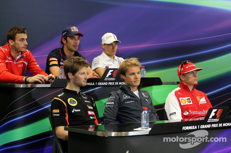 2014 Monaco Grand Prix Wednesday press conference