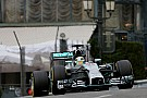 Mercedes' Hamilton finished second in a rainy Thursday practice at Monaco