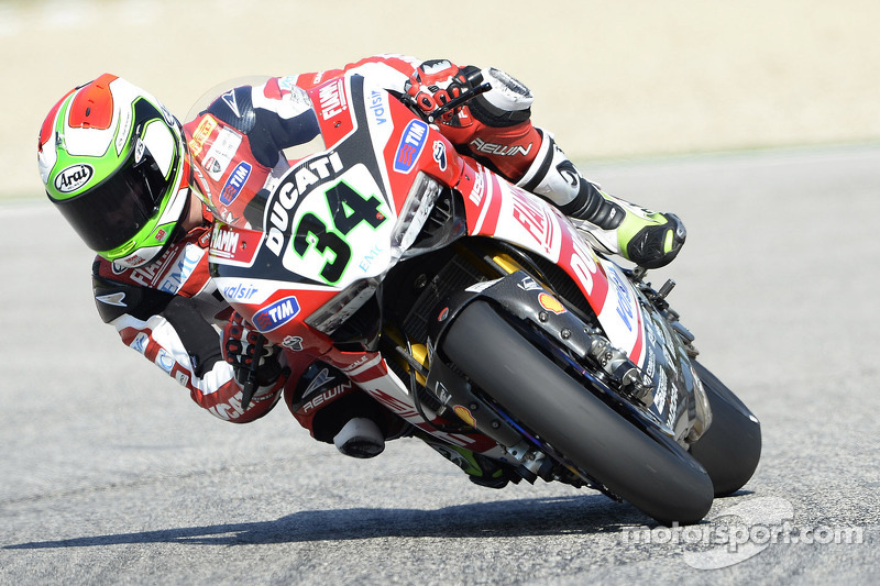 Provisional front row spot for Giugliano and the Ducati Superbike Team at Donington Park