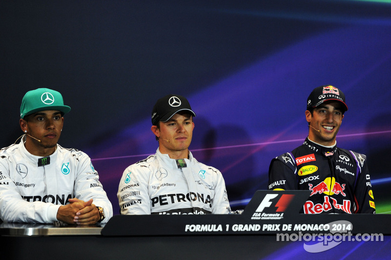 2014 Monaco Grand Prix qualifying press conference