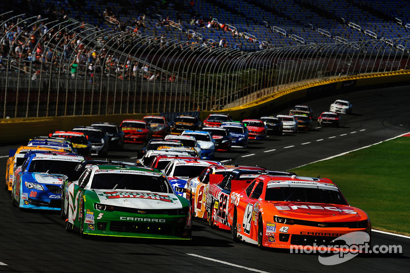 Kyle Larson secures his second Nationwide victory of the season