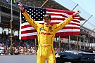 Ryan Hunter-Reay wins at Indy