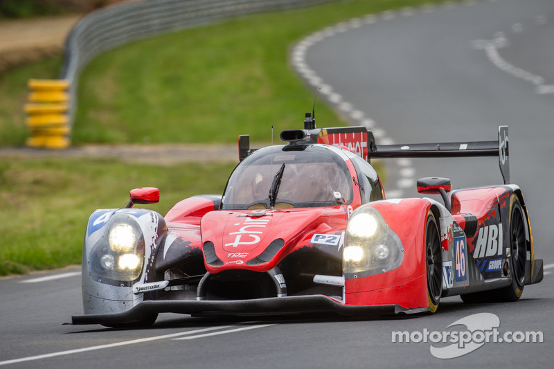 First laps for the Thiriet by TDS Racing Ligier at Le Mans