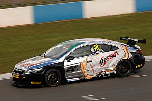 BTCC Race report Aaron Smith takes the Race Three victory at Oulton Park