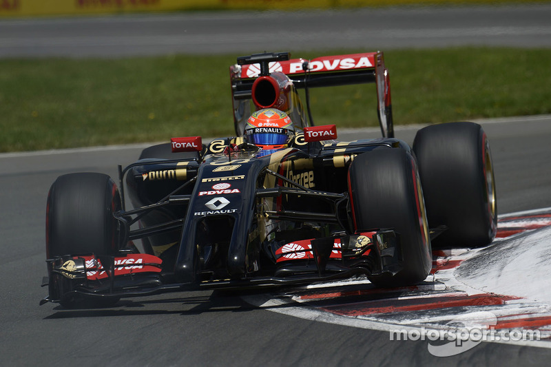 Lotus on bad day: Double retirement in today's Canadian GP