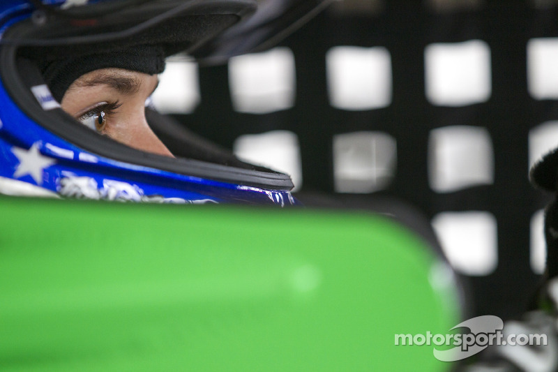 Danica Patrick is ready for a track with twists and turns