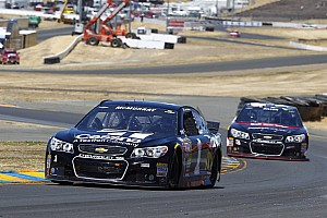 NASCAR Sprint Cup Qualifying report Late record run gives Sonoma pole to Jamie McMurray