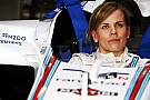 Susie Wolff's Formula One debut gets cut short