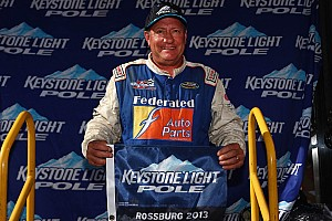 ARCA Race report Polesitter Ken Schrader comes close at Winchester, but rookie Jones prevails