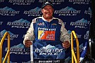 Polesitter Ken Schrader comes close at Winchester, but rookie Jones prevails