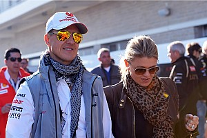 Wife says Schumacher 'moving forwards' in rehab