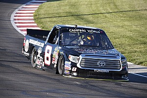 NASCAR Truck Race report Nemechek upbeat after top 10 finish