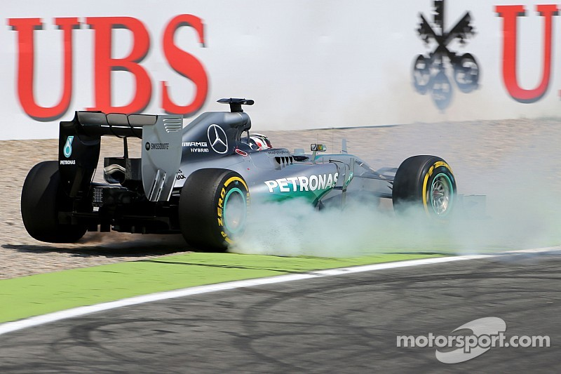 Mercedes slams 'unacceptable' Brembo failure