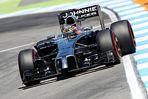 Despite accident, McLaren is top ten on the German GP