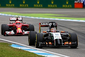 Formula 1 Race report Sahara Force India scored seven points in today's German GP