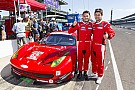 Fisichella, Cameron take GT poles at the Brickyard
