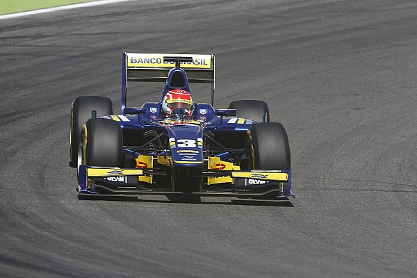 Felipe Nasr dashes to maiden GP2 pole