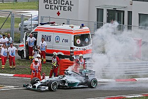 Long faces at Mercedes and Ferrari