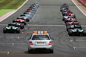 Ecclestone says F1 to scrap 2015 grid restarts