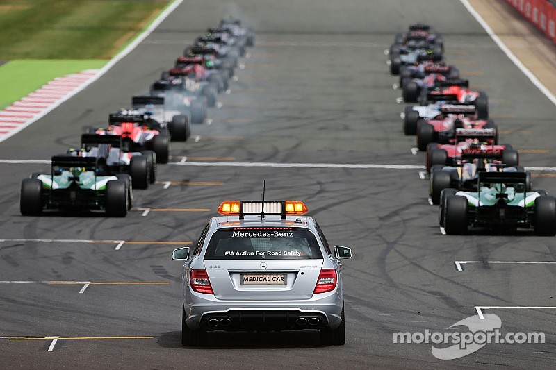 Ecclestone says F1 to scrap 2015 grid restarts