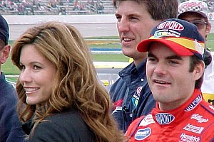 NASCAR Sprint Cup Commentary Jeff Gordon, Brooke Gordon, David Letterman, Drew Barrymore. And me.