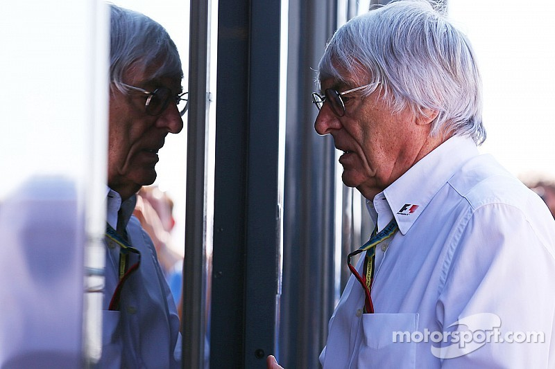 'Free man' Ecclestone goes back to work on F1