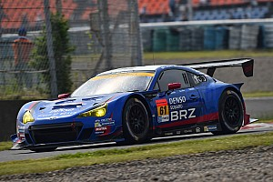 Super GT Qualifying report Tsukakoshi and Sasaki take Fuji poles