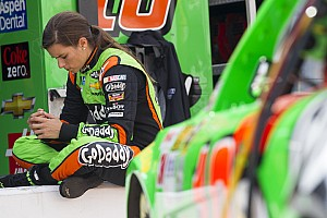 Not Danica Patrick's night at Bristol