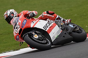 MotoGP Qualifying report Dovizioso puts in another excellent qualifying run for the British GP at Silverstone