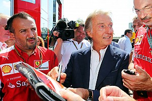 "Italian GP – Montezemolo: ""Still a lot to do for Ferrari and Formula 1″"
