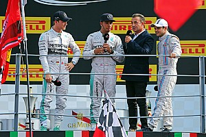 'Lewis drove a great race and he deserves it' - Nico Rosberg