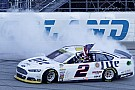 Keselowski wins Chase opener after three-wide pass for the lead