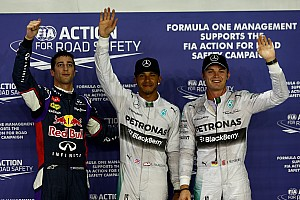 Hamilton edges Rosberg for Singapore Grand Prix pole