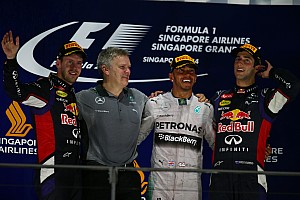Lewis Hamilton retakes championship lead with Singapore GP victory