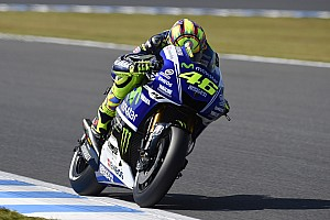 Rossi scores front row in Motegi for Movistar Yamaha MotoGP