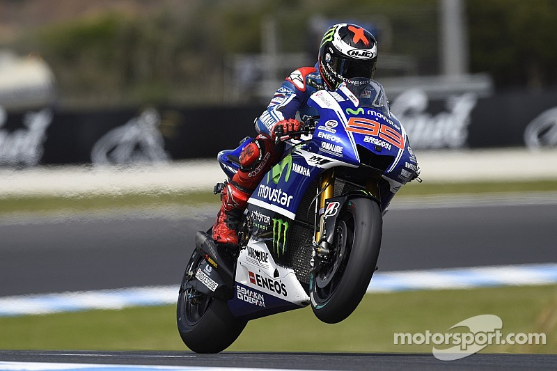 Front Row start for Lorenzo at Phillip Island