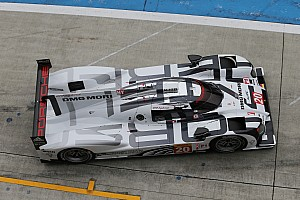 GT drivers Tandy, Lietz, and Pilet test Porsche 919 Hybrid