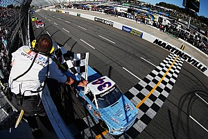 NASCAR Truck Race report Darrell Wallace Jr. takes Wendell Scott tribute truck to Victory Lane