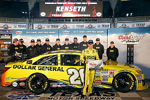 NASCAR Sprint Cup Qualifying report Kenseth beats Gordon for Texas pole