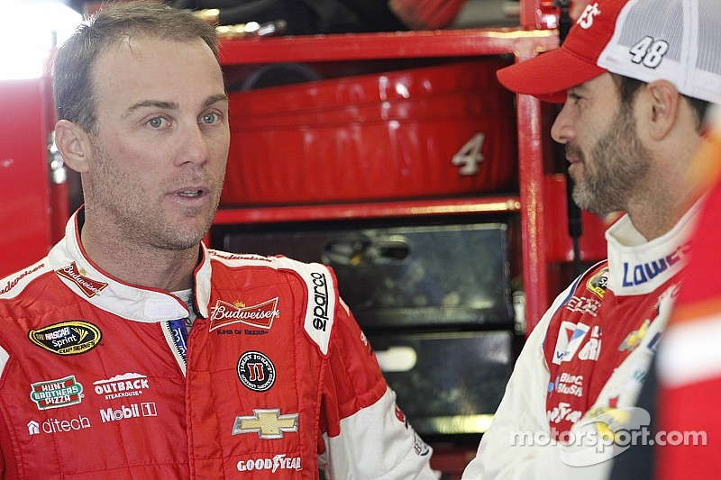 NASCAR notebook: Harvick OK with Keselowski's driving, as long as he's willing to fight