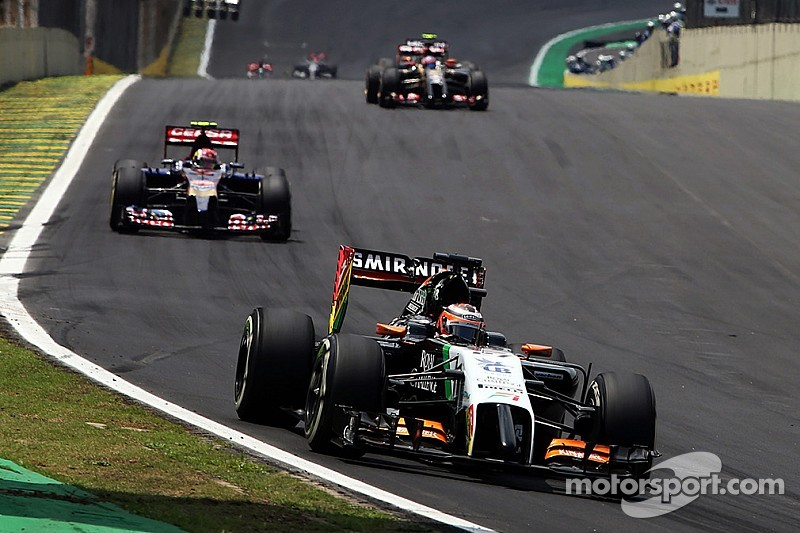 Sahara Force India scores four points in today's Brazilian GP