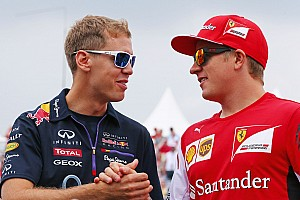 Vettel expects 'no problems' with teammate Raikkonen