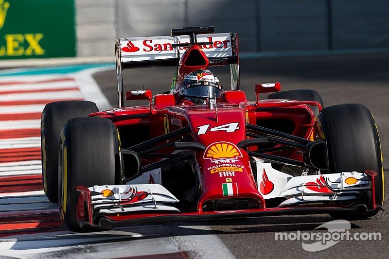 Abu Dhabi GP: Fifth row for Scuderia Ferrari