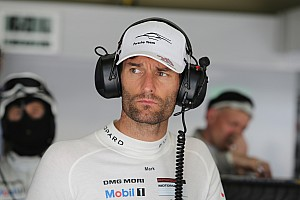 WEC Breaking news Mark Webber: I've got a 'stinking headache'
