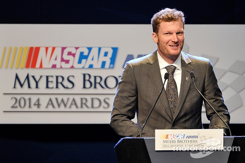 Dale Earnhardt Jr. wins Myers Brothers Award