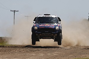 Dakar Stage report Nasser Al-Attiyah is the fastest again and open up a lead of more than 8 minutes