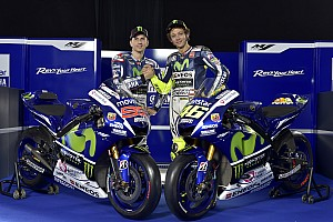 MotoGP Breaking news Rossi and Lorenzo launch 2015 Yamaha MotoGP campaign