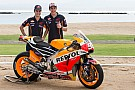 Marquez and Pedrosa unveil new HRC MotoGP livery in Bali