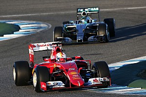 Rosberg surprised by pace of Ferrari