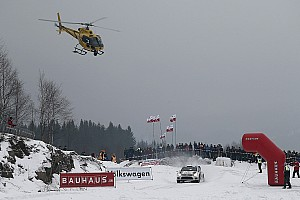 WRC Breaking news Car strikes photographer during Rally Sweden